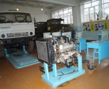 Лаборатория технического обслуживания автомобилей
